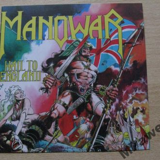 CD Manowar. Hail To England.1984/2010.