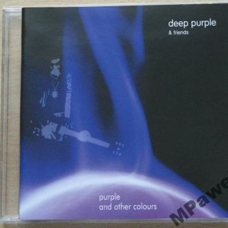 CD Deep Purple And Friends. Purple And Other Color