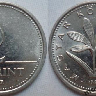 Венгрия 2 форинта 1994, 97 флора