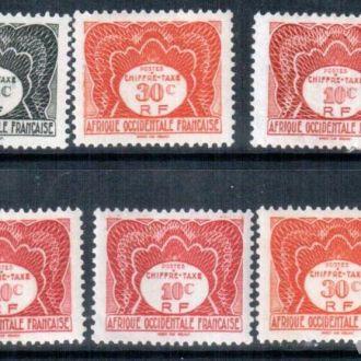 Западная Африка 1947  MNH
