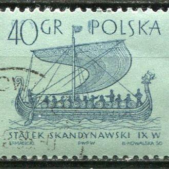 Польша Корабли Парусник викингов гаш