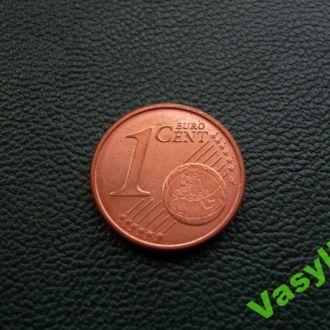 Германия 1 евро цент 2007 г. D  UNC!