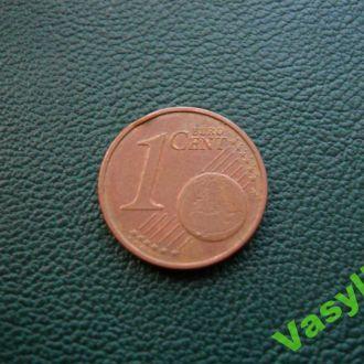 Нидерланды 1 евро цент 2003 г. Сохран!!!