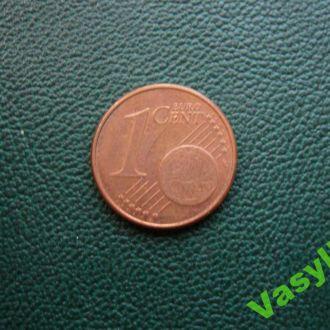Германия 1 евро цент 2007 г. G  Сохран!!!