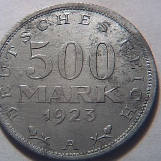 Германия 500 марок 1923 А