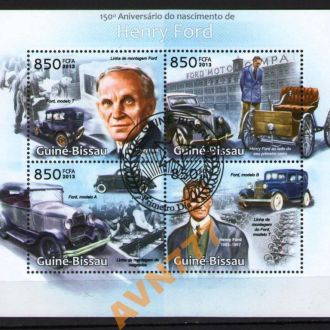 Гвинея Бисау 2013 Автомобили Форд мл 12 евро