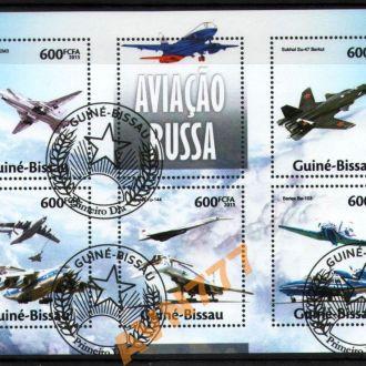 Гвинея Бисау 2013 ВВС Авиация самолеты мл лист