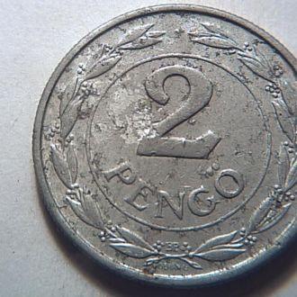 Венгрия. 2 пенго 1942 г.№38