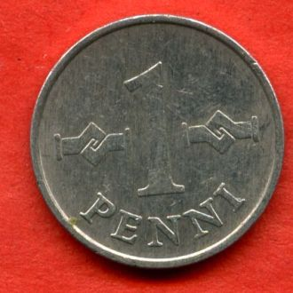 1 пенни 1977
