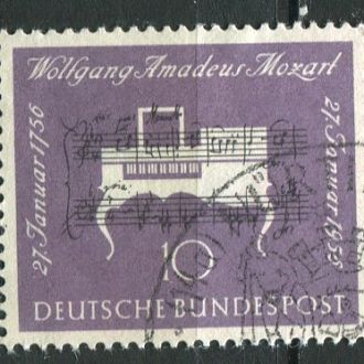 Германия ФРГ 200 лет Моцарту Клавесин гаш