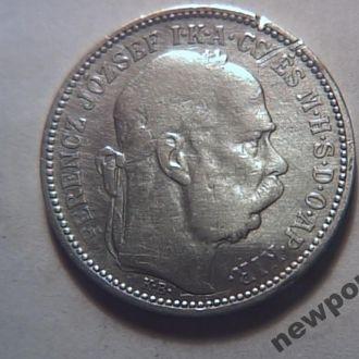 Австрия серебро 1 корона 1894 №2