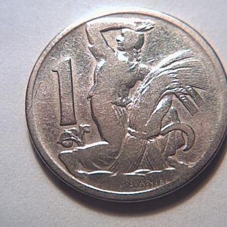 Чехословакия 1 крона 1922 год