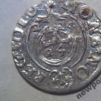 Польша - полторак 1624 г. Сигизмунд III Ваза №6