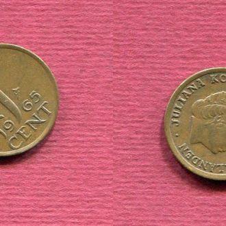 Нидерланды 1 цент 1965