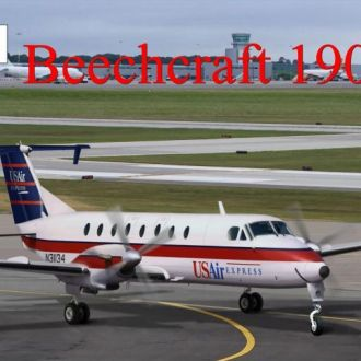 Amodel - 72308 - Beechcraft 1900C - 1:72