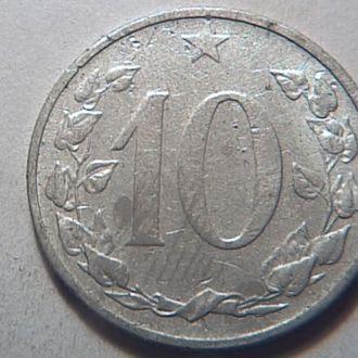 Чехословакия 10 гелер1953 №22