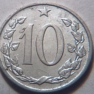 Чехословакия 10 гелер1963 №11