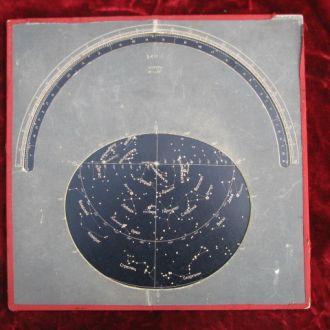 бортовая карта звездного неба БКН 1947г авиация