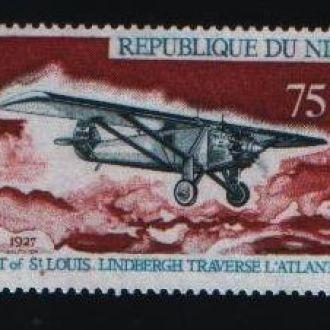 Авиация Самолет Нигер 75 фр 1972 металлография