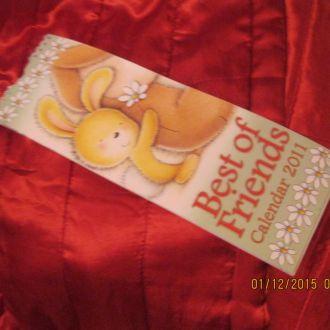 календарь перекидной заяц из британии 2011 сувенир