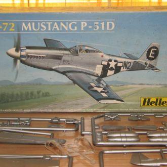 модель самолета Mustang Мустанг heller