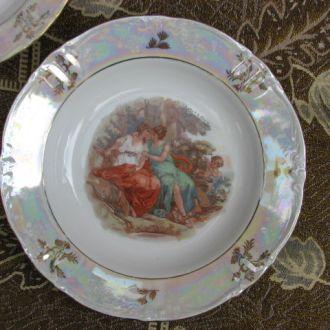 тарелка сервиз мадонна гдр 23 см глубокая