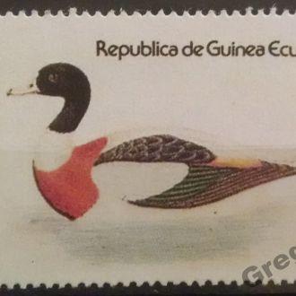 марки Экваториальная Гвинея фауна птицы люкс