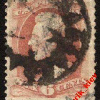 США1870-71 г.№ 39 W гаш