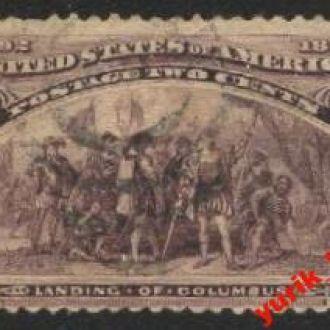 США  1893г. №231 гашенная