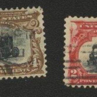 США  1901г. №132-135 гаш