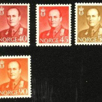 Норвегия 1958  г. № 418-427 сер