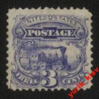 США  1869г. №28 *