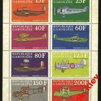 Габон -Авиа-1970г. №1С 104