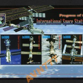Сьерра Леоне 2006 Спутники косм аппараты лист MNH