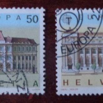 Швейцария,Европа-Септ,полная серия,1990год
