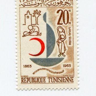 ТУНИС 1963 ** МЕДИЦИНА КРАСНЫЙ КРЕСТ