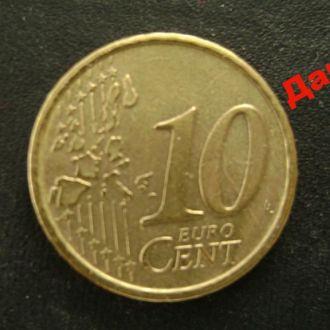 10 евроцентов 2002 Италия