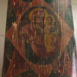 Неопалимая Купина большая церковная икона