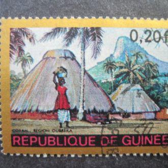 Гвинея  1968    Деревня. Префектура Дубрека