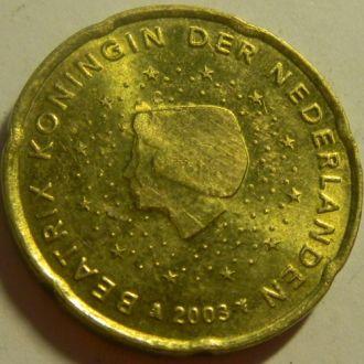 20 евроцентов 2003 Голландия