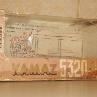 Коробка КАМАЗ 5320 АРЕК СССР РосГалантерея м:1/43