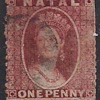 БРИТ. КОЛОНИИ NATAL КЛАССИКА 1860 110 евро