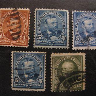США 1897  1903 СТАНДАРТЫ ЛИЧНОСТИ