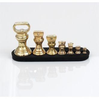 Набор гирек для кухонных весов, бронза,Англия