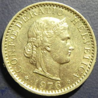 20 раппенов 1976 Швейцарии
