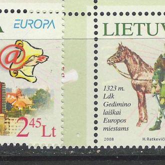 Литва Европа 2004 CEPT чистые