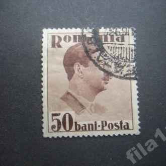 марка Румыния 1935-1940 стандарт 50 бани