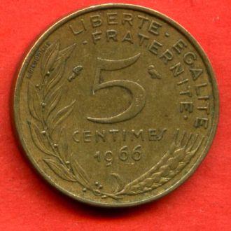 5 сантимов 1966