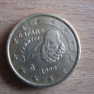 10 евроцентов Испания 1999