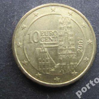 10 евроцентов Австрия 2007